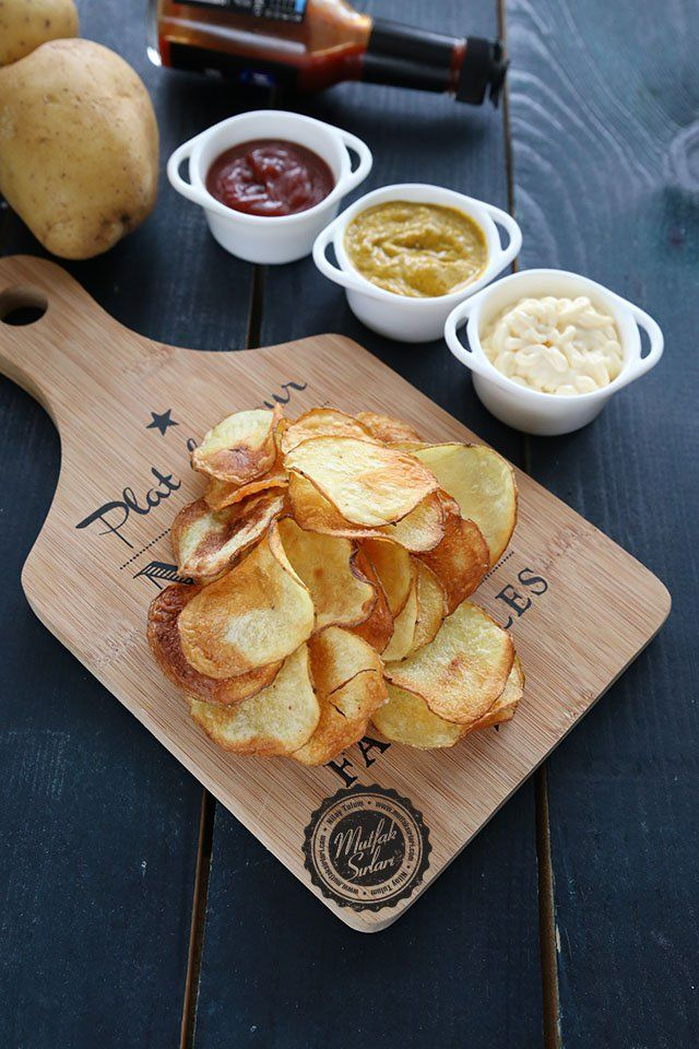 Fırında Patates Cipsi | Mutfak Sırları