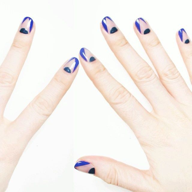30 best nails images on pinterest nail art ideas nail scissors 50 negative space nail ideas to copy right now sciox Images