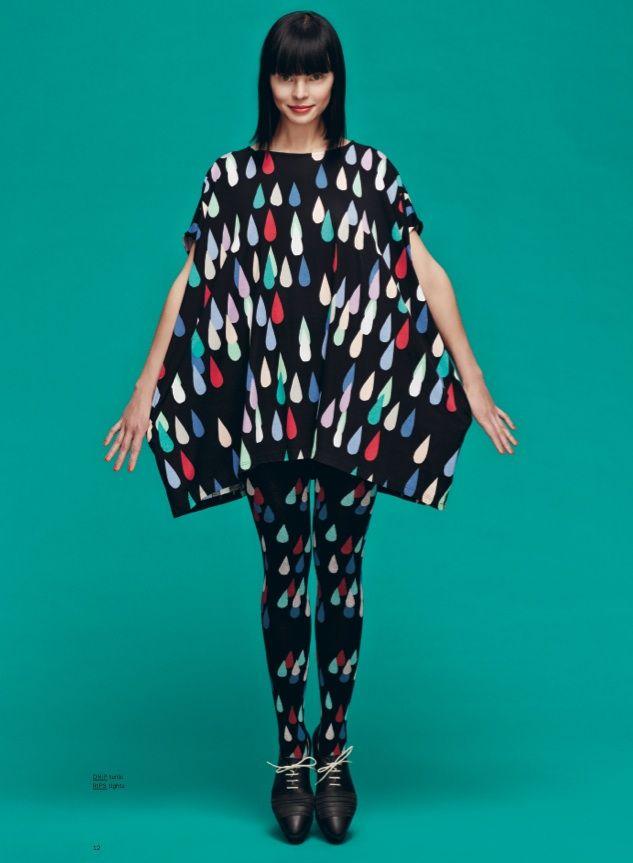 Marimekko Fall 2013: Rips tights