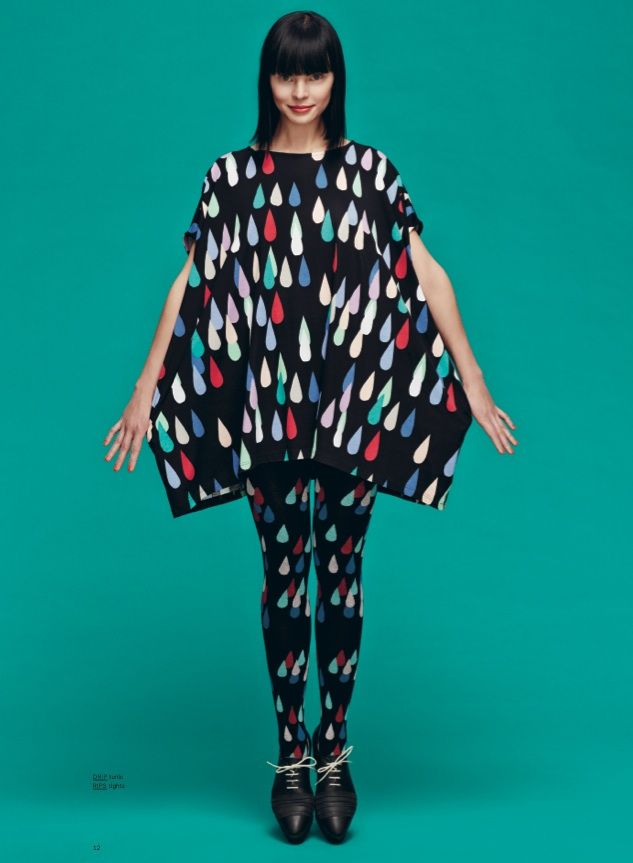Marimekko Fall 2013: Rips tights