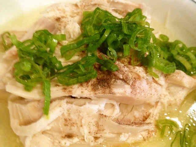 クロックポットで参鶏湯(サムゲタン)の画像