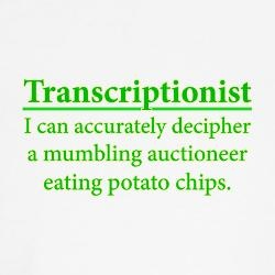 Medical Transcriptionist Gifts  lots of items on this link for med transcriptionist.