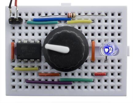 Simple Rotary Encoder Interface Rotary encoders are a nice alternative to a potentiometer in a project, because they're multi-turn, and you can specify in the software how you want the amount you rotate the knob to vary the parameter that you're controlling. They work by providing two switches that are activated in sequence when you rotate the knob. By checking the state of both switches your program can tell both how far the knob has been rotated, and in which direction: