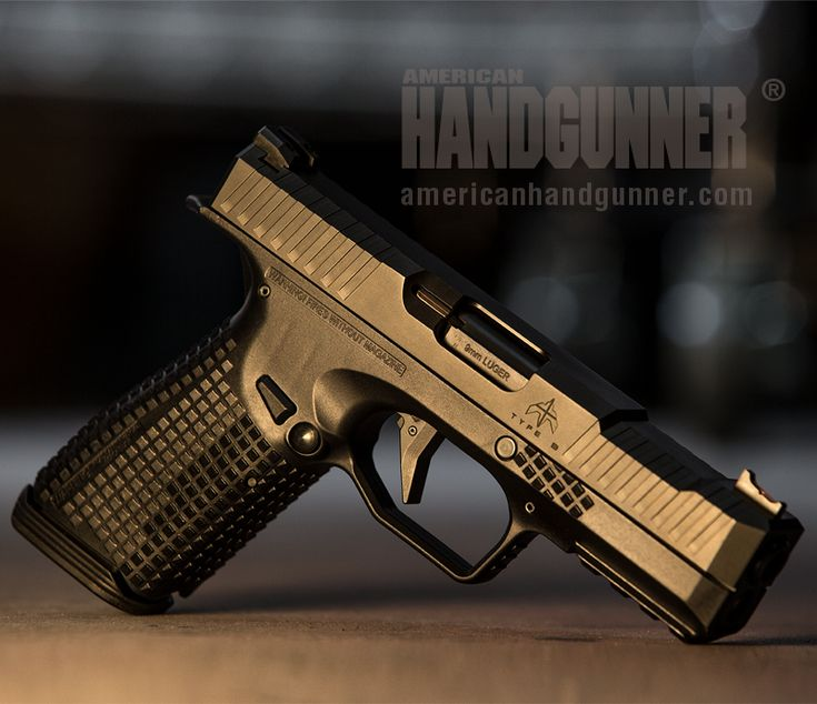 EXCLUSIVE: Archon Type B Pistol | By Tank Hoover | The Type B is a compact, polymer grip, striker-fired handgun featuring the lowest bore axis on the market and unique recoil-reducing mechanical design. Let's take a look ... | © American Handgunner 2018
