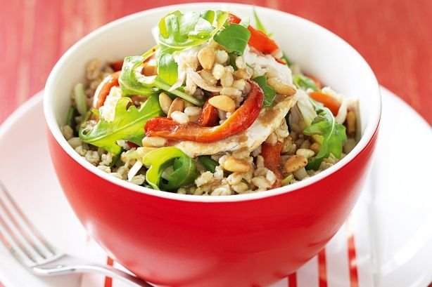 For a quick and healthy meal, try our Chicken and barley salad recipe.