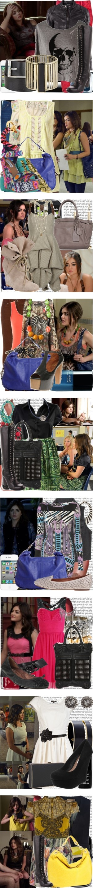 """""""Aria Montgomery Season 3 Outfits"""" by hollywood514 ❤ liked on Polyvore"""