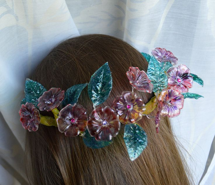 Flower Headpiece ~Flower-Power~ by Naruvien
