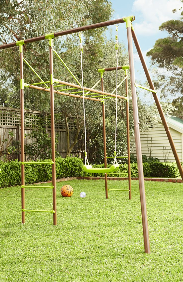 Keep the kids active with this fun-packed play gym. #Easter