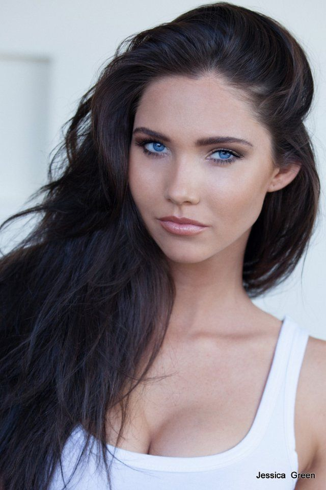 124 best images about brown hair pale skin green eyes on ...