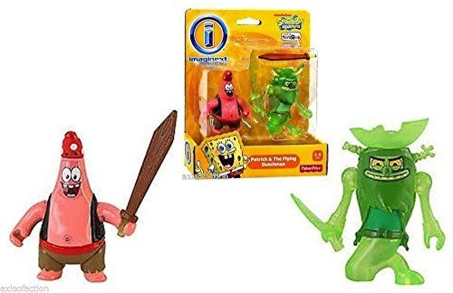 Fisher Price Imaginext Spongebob Square Pants Patrick & The Flying Dutchman NIP @ niftywarehouse.com