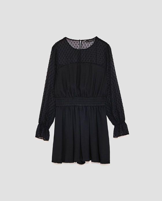Hm black dress fall winter 2018