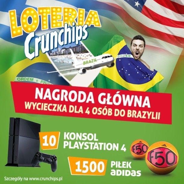 Loteria #Crunchips już ruszyła! :) Rejestrujcie swoje kody na www.crunchips.pl!