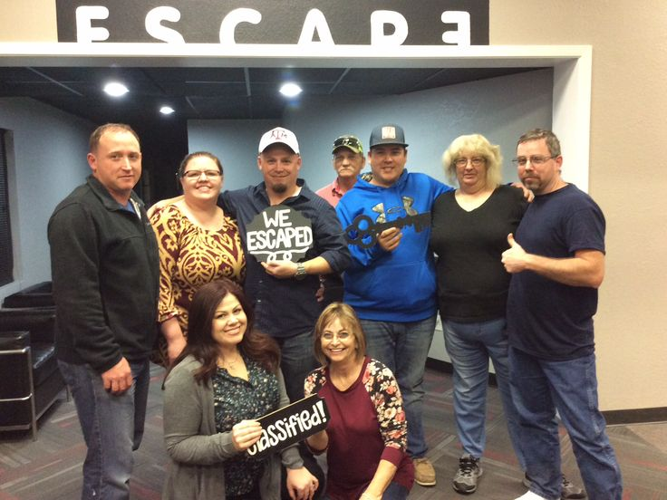 These agents passed their final test by successfully escaping from Classified!