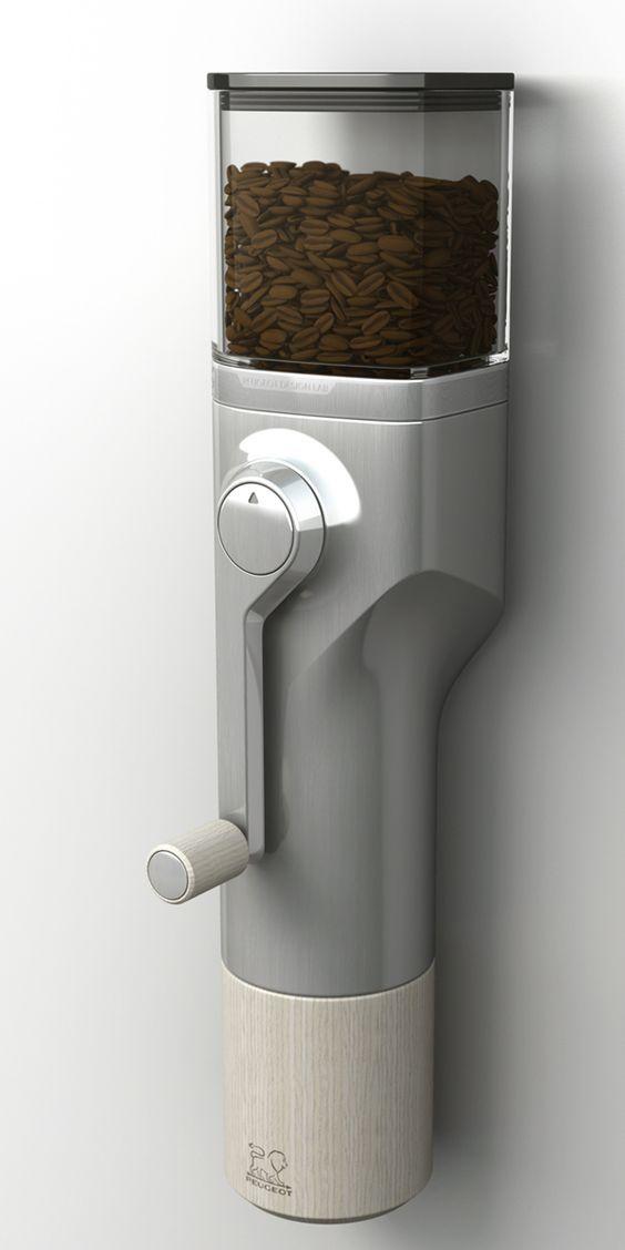 Peugeot Design Lab - Concept moulin à café: