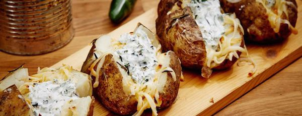 Patates Gouda Fumé et Jalapenos