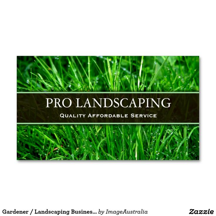 17 best images about business cards landscaping on for Landscaping business