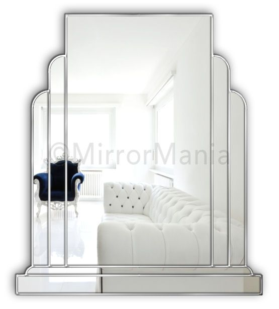 Art Deco Wall Mirror 109 best bathroom mirrors images on pinterest | bathroom mirrors