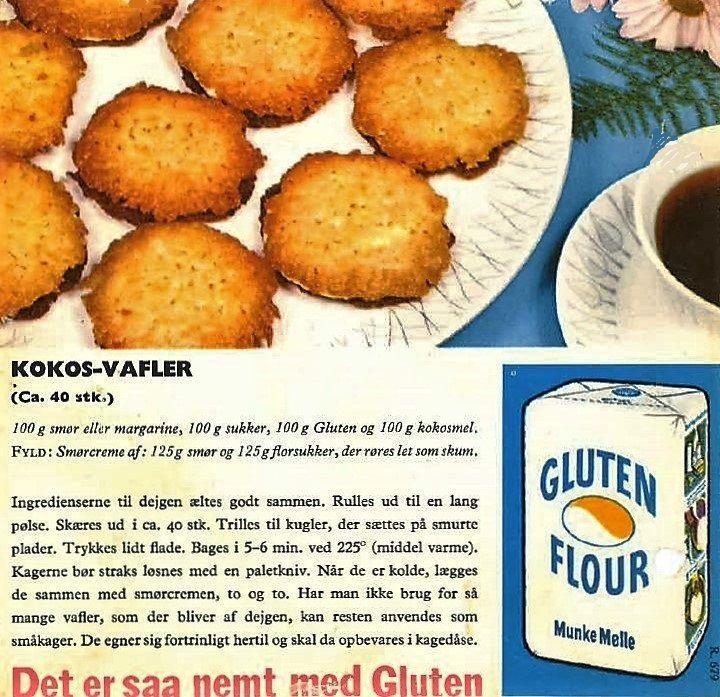 Kokos- Vafler ( ca. 40 stk. )...