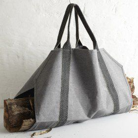 Log Carrier by Patrick Thomson; London based designer and tailor.