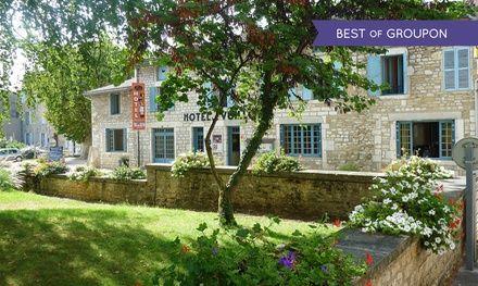 Bourgogne : 1 ou 2 nuits avec petits déjeuners et dîner «Menu Terroir» à l'Hôtel Restaurant Vuillot pour 2 personnes