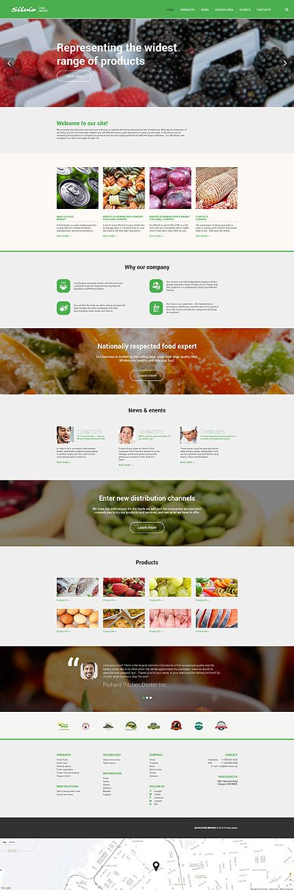120 best images about Food & Drink Web Templates on Pinterest