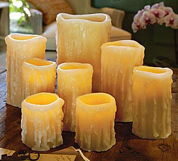 1000+ images about Battery Operated Candles on Pinterest | Votive ...