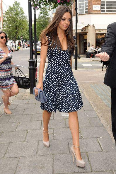 Azelia For Fashion Blog: Mila Kunis Style