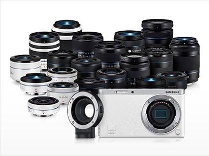 Samsung NX mini More lenses means higher performance