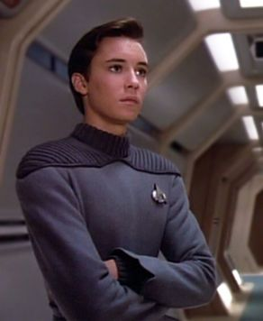 Wesley Crusher (Wil Wheaton) Star Trek: The next generation