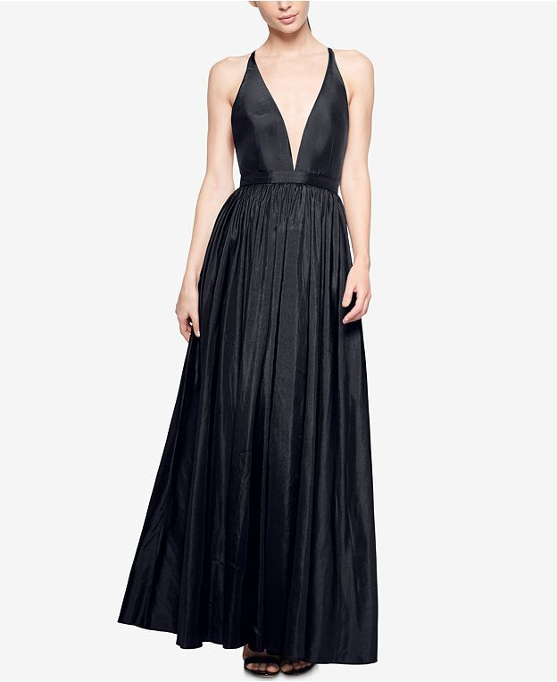 Fame and Partners Plunging V-Neck Dress - Dresses - Women - Macy's
