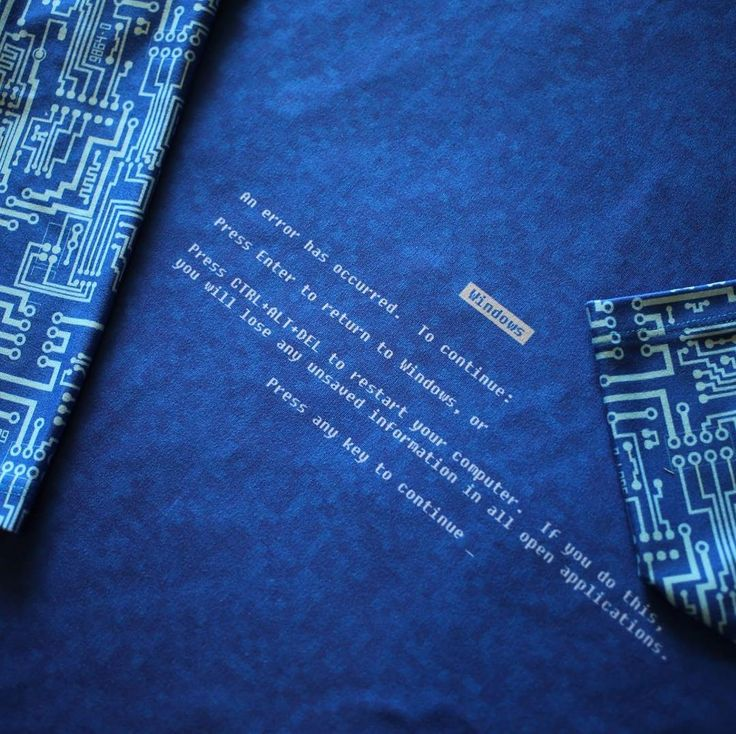 This Blue Screen of Death panel and coordinating circuit print from @zen qfabric was perfect for my son getting his degree in computer science. The preorder closes on July 14th. #bluescreenofdeath #bsod #fabric #sewing #computerscience #computer #windows  #computersciencemajor #error #fatalerror #bluescreen #computerengineering #geek #nerd #geekfashion #nerdfashion #stem #nerdalert #geekalert #mensfashion #isew #znqfabric #zenithandquasar