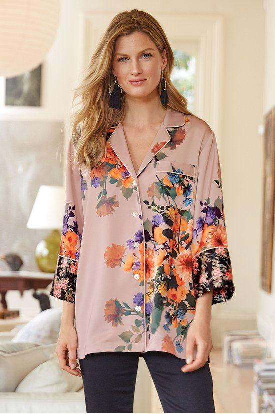 1a948360dd332 Dahlia Dreams Shirt - Pj-style Top