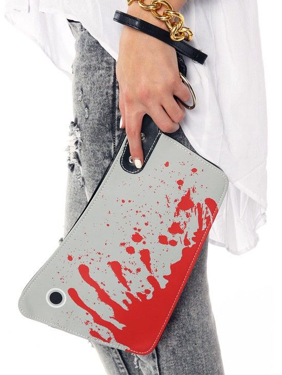 Cleaver Clutch Bag by Kreepsville 666