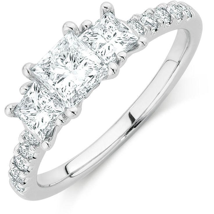 1 1/2 Carat TW Diamond Three Stone Ring from Michael Hill $5999