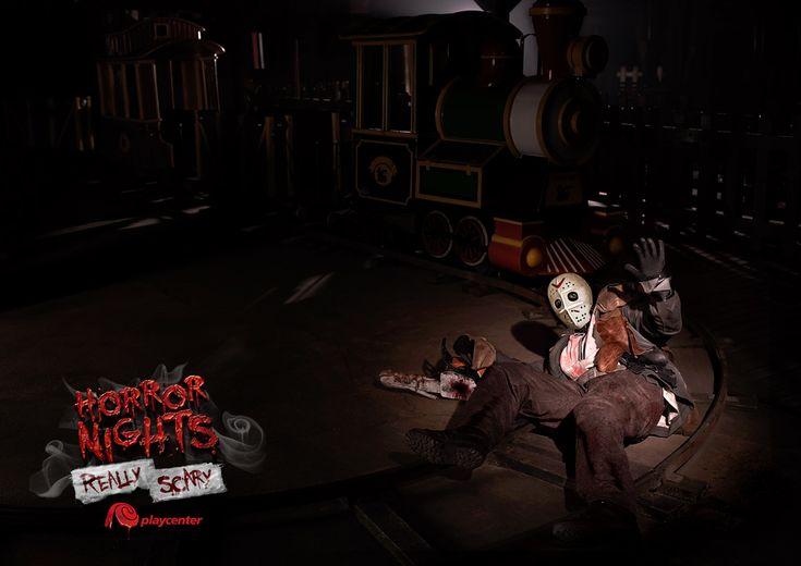 Playcenter: Jason Horror Nights Really scary