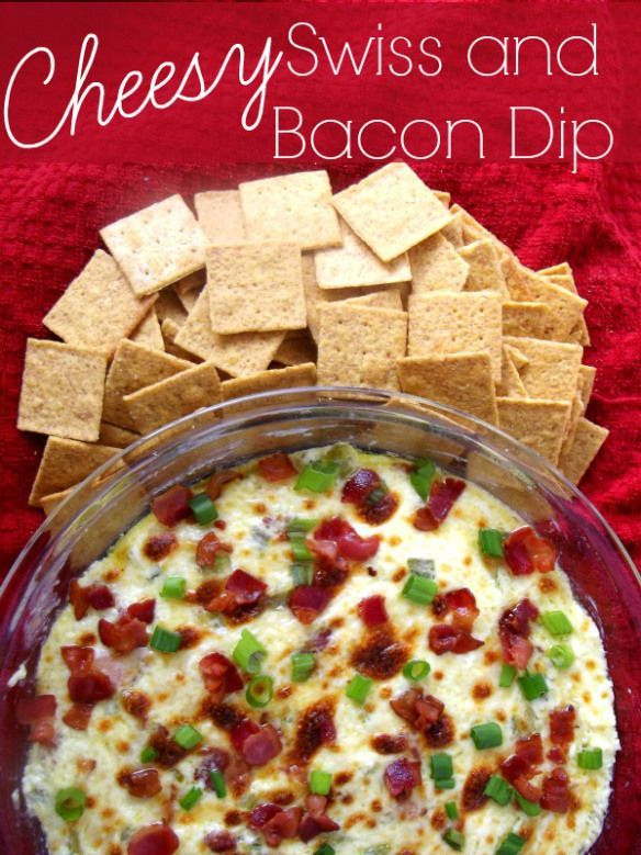 ... swiss and bacon dip dips appy s cheesy swiss eve perfection awesome