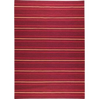 Shop for M.A.Trading Hand-woven Savannah Red New Zealand Wool Rug (4'6x 6'6). Get free shipping at Overstock.com - Your Online Area Rugs Outlet Store! Get 5% in rewards with Club O!