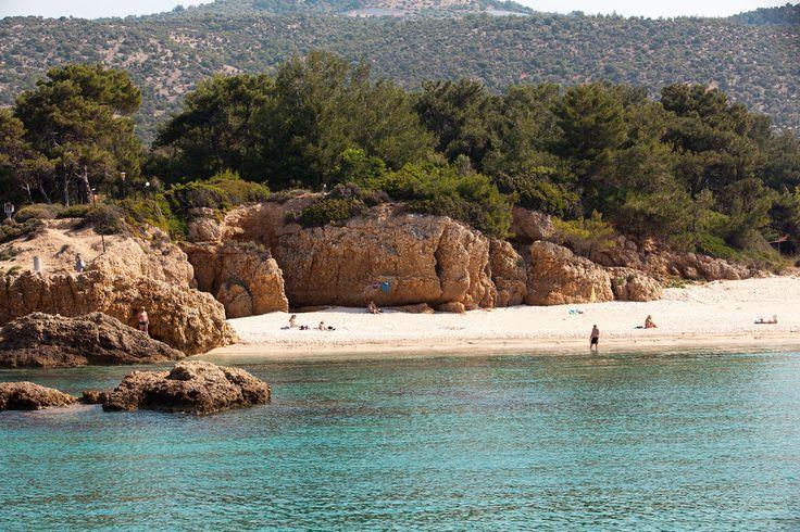 Ranta Alexandra Beach -hotellin vieressä. #Potos #Thassos #Kreikka #Greece #travel #beach #matka #loma #tjäreborg #letsgo #parhaatviikot