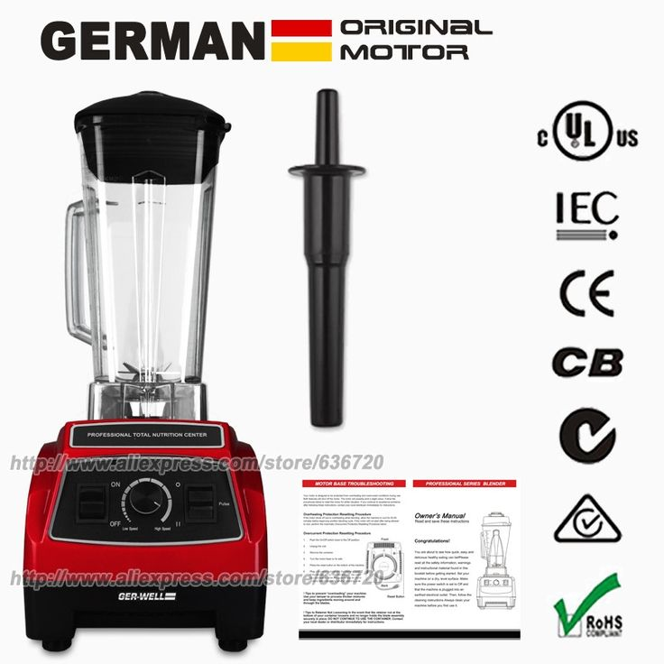 (79.91$)  Watch more here  - 100% GERMAN Original  BPA FREE Professional Kitchen System Pulse (G2001) 3HP Motor 2200W 64-Ounce food mixers blenders
