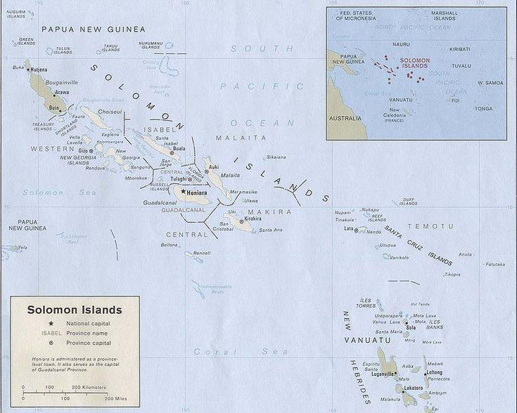 Solomon Islands - Wikipedia, the free encyclopedia