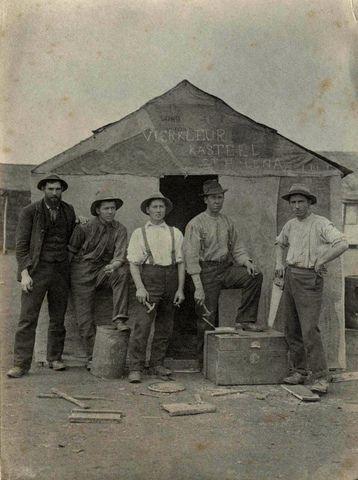 Photos from Anglo Boere Oorlog/Boer War (1899-1902) POW Saint Helena Vierkleur Kasteel St Helena