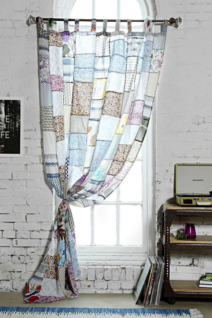 Magical Thinking Patchwork Curtain - Urban Outfitters - not long enough for our windows - $67 usd per panel