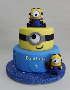 1000 Ideas About Minions Birthday Cakes On Pinterest