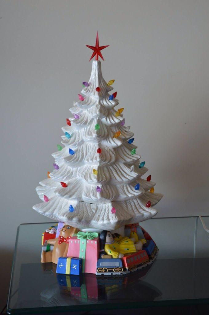 Ceramic light Xmas tree