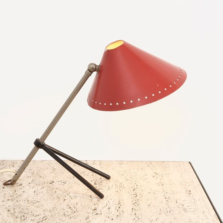 H.Th.J.A. Busquet For Hala Zeist; Pinocchio Desk Lamp, Netherlands,