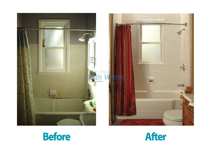 Best Before And After Bathroom Remodeling Images On Pinterest - Bath wraps bathroom remodeling for bathroom decor ideas