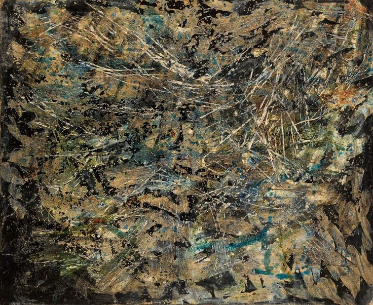 Untitled, 1965 Oil on canvas 35 2/5 × 43 3/10 in 90 × 110 cm