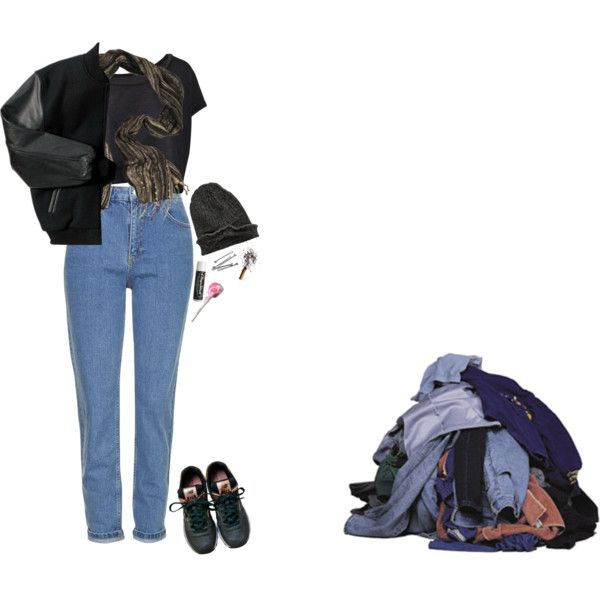 Cold by greatmisery on Polyvore featuring Topshop, New Balance, Element, BOBBY and Chapstick