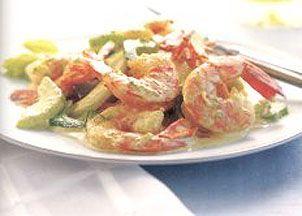 South Beach Diet Shrimp and Celery Salad