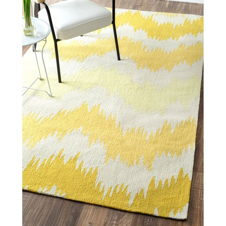 nuLOOM BHBC78C Barcelona Yellow Alicea Hand Made Area Rug | Lowe's Canada